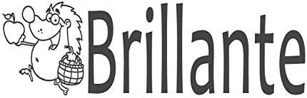 brillante brillante brillante avec hérisson Image, pré encrée en Español & Spanish Teacher Tampon (# 661202-j), style J Stamp   (38x10mm) Vert B074P2QSCM 150a62