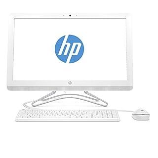 HP 24-e056ng 60,45 cm (23,8 Zoll) All-in-One Desktop PC (Intel Core i5-7200U, 8GB RAM, 256GB SSD, Windows 10) weiß