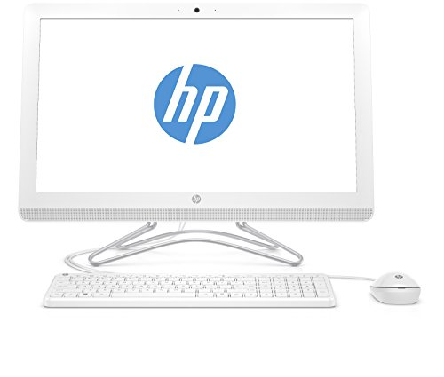 HP 24-e056ng 60,45 cm (23,8 Zoll) All-in-One Desktop PC (Intel Core i5-7200U, 8GB RAM, 256GB SSD, Windows 10) Weiß