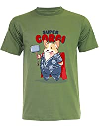 PALLAS Unisex Corgi Cute Puppy I AM LOAF Funny T-Shirt