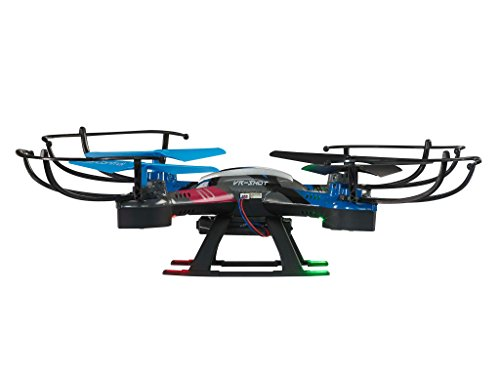 Revell Control RC VR Quadrocopter mit FPV Kamera und VR-Brille, Live-Übertragung über WiFi, Video-Stream aufs eigene Smartphone, ferngesteuert mit 2,4 GHz Fernsteuerung, Wechsel-Akku, VR SHOT 23908 - 7