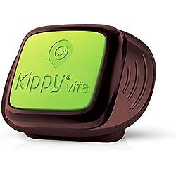 Traceur GPS Kippy VitaS pour Animaux de Compagnie | GPS et Moniteur d'activité pour Chiens et Chats pesant 5kg ou Plus | Nécessite Un abonnement au Service de données (Vendu séparément) | Vert