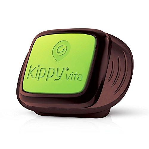 KIPPY Vita - Rastreador GPS de mascotas para perros y gatos, Marron,...
