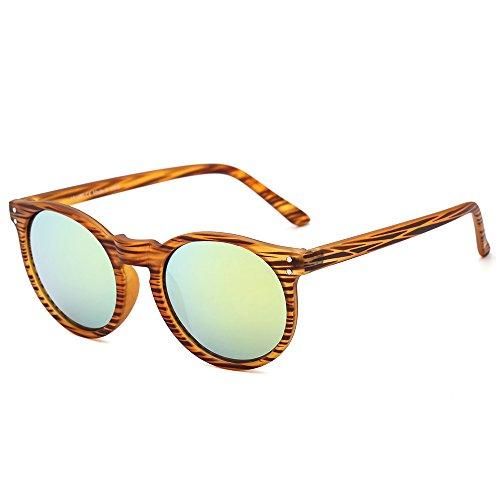 Suertree kleine Runde Sonnenbrille Klassische UV400 Unisex Shades niedliche Mode Brille JH9003