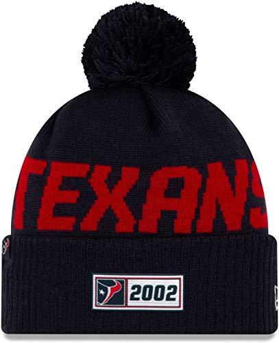 New Era NFL Houston Texans Authentic 2019 Sideline Road Sport Knit Wintermütze