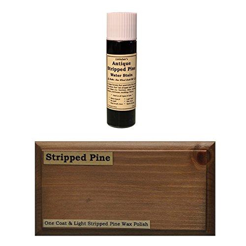 Littlefairs umweltfreundliche wasserbasierte Holzlasur und Farbe - Traditionelles Sortiment (Tester Pot, Antike gestrippte Kiefer)