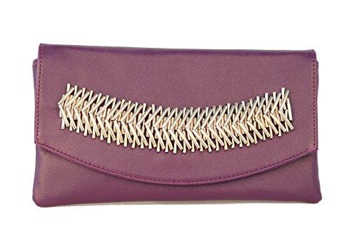 New Destiny Trading, Poschette giorno donna Purple
