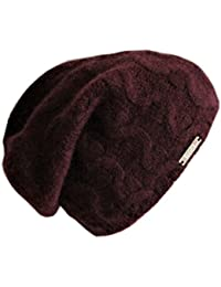 Frost Hats Luxurious Cashmere Slouchy Cable Beanie CSH-735