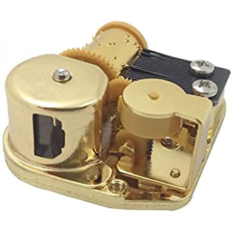 Vento Fino Orologio Movimento Carillon Meccanico Giocare Danubio Blu - Vento Fino Chiave