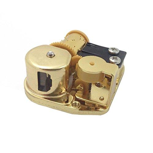 Carillon Vento Fino Orologio Carillon Meccanico Movimento Di Gioco Stella Alpina