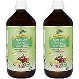 Dr. Patkar's Apple Cider Vinegar Garlic, Ginger, Lemon and Honey (Pack of 2) (500ml)