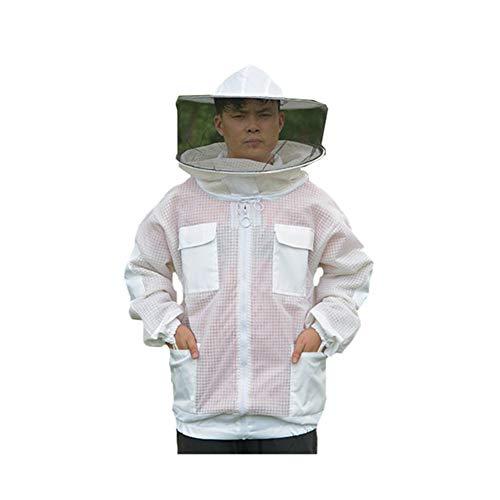 JQJPJOSIE Chaqueta Protectora Abeja apicultores Capucha