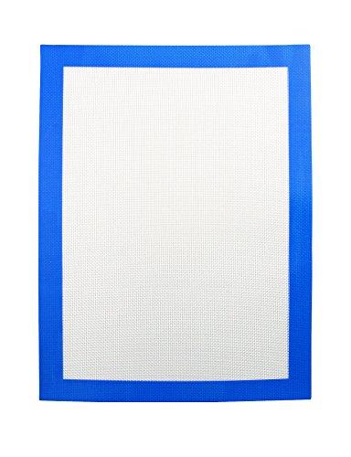 Heisenberg Dabbing Matte Antihaft Silikonmatte blau zum Verarbeiten von Wachs und Konzentraten 30cmx40cm