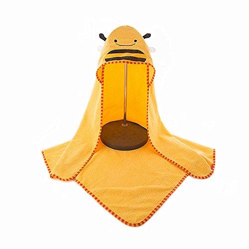 y niedlichen Tier 100% natürliche Baumwolle weiche Toilettenpapier für Baby Dusche nach Bad Kuscheln 'n trocken, große 90 * 90cm Größe (Bienen) ()