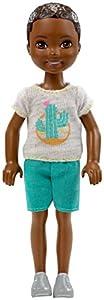 Barbie Chelsea Muñeco moreno con camiseta de cactus (Mattel FHK94)