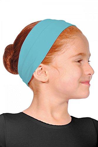 Roch Valley Stirnband aus Baumwolle Türkis