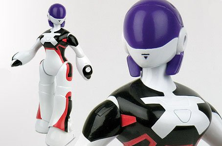 Wow Wee WowWee Alive Minis-8002 Jointed Mini Robot Figure Femisapien