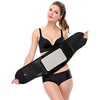 WQlry Heizband, Tragbare Selbstheizende Körperformung, Zuhause/Büro (Farbe : SCHWARZ, größe : L) preisvergleich bei billige-tabletten.eu