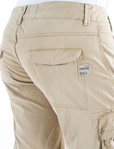 Timezone Herren Shorts Regular Maison Cargo Shorts Beige (Almond 6181)