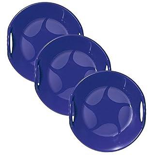 AlpenGaudi Snow UFO Blue Sledge- Pack Of 3