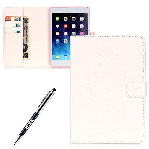 Ostop Compatibile con Cover iPad Mini 1 2 3 4 5,Custodia Portafoglio in Pelle PU Auto Svegliati//Sonno e Porta Penna Caso Supporto Flip Magnetico per iPad Mini 1//2//3//4//5,Mandala Blu