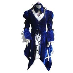 "Dream2Reality Anime japonais Rozen Maiden Cosplay Costume - Suigintou ""Mercury Lampe, Kurobara, Death Angel"" Outfit 1st Ver Medium"