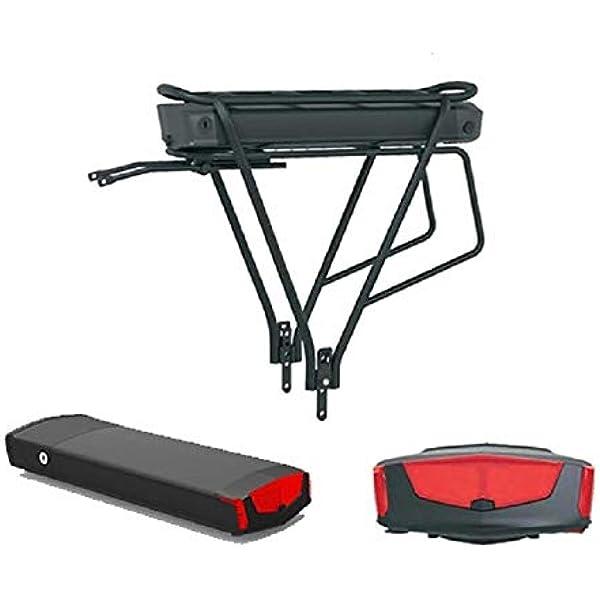 Gepäckträger Fahrradladegerät Akku Gerät 36V 13AH 500W E-bike Li-ion Batterie