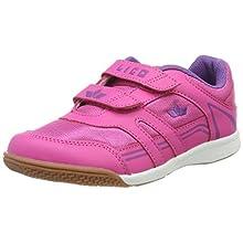 Lico Active Boy V, Scape per Sport Indoor Bambina, Rosa (Pink/Lila Pink/Lila), 35 EU