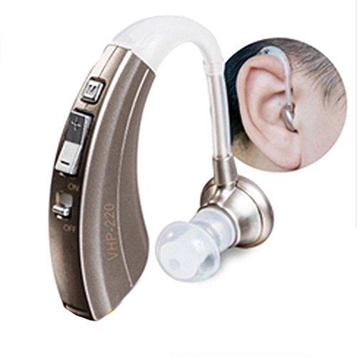 Hörverstärker VHP-220 Klangverstärker Einstellbarer Ton Hörgeräte Hörgeschädigte Hörgeräte - Passend für linke und rechte Ohren , Single ear