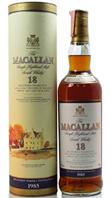 Macallan - Single Highland Malt - 1985 18 year old