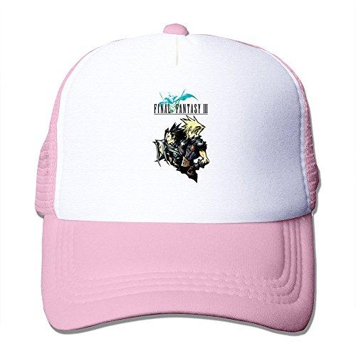 Bang da uomo Final Fantasy Vii Logo Cappellino regolabile rosa Taglia unica