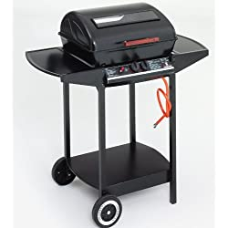 Grill Chef 12375FT Barbecue Gaz Compact 2 Bruleurs, Noir