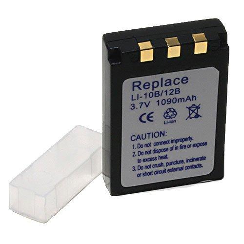 Ersatzakku für Olympus LI-10B/LI-12B (Camedia C50Zoom, µ300Digital, µ400Digital) Sanyo DB-L10 (VPC-AZ3EX, -J1EX, -MZ3) -