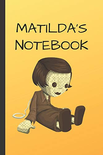 Matilda's Notebook: Doll  Writing 120 pages Notebook Journal -  Small Lined  (6