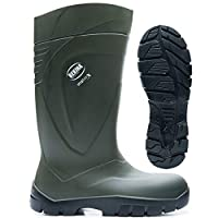Bekina Steplite X Agricultural S4 Safety Wellington Boots Green