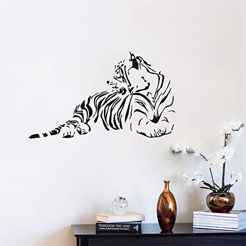 Wandtattoo Kinderzimmer Wandtattoo Schlafzimmer Tiger Silhouette für Kinderzimmer Tiere ()