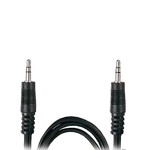M-one 2m de long 3,5mm vers prise jack 3.5mm stéréo Câble audio Lead pour–Creative 51Mf1610aa003GigaWorks T20Series II haut-parleurs stéréo/connecter MP3, téléphones portables, tablettes, ordinateur portable, PC....