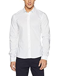 GUESS Mens Casual Shirt (7613351639008_M72H46W7ZK0_X-Large_Multi-colored)