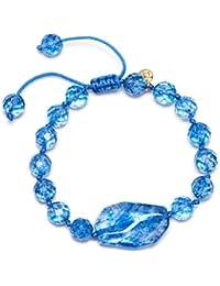 Lola Rose Starla Bracelet Black Rock Crystal