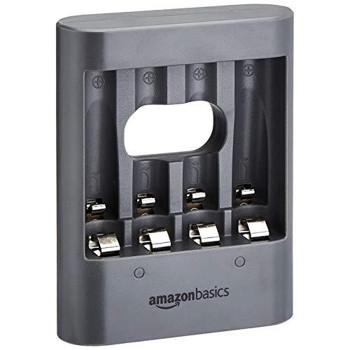 AmazonBasics Chargeur de nuit USB - Noir