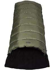 Mountain Warehouse Sac de couchage Adulte 220 cm x 98 cm Rectangulaire -18 °C et 3 °C Toutes Saisons Sutherland
