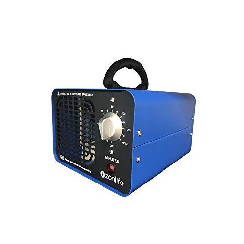 Profesional 10.000MG/horas Comercial Generador de Ozono olores Ozono purificador de aire con temporizador...