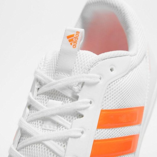 adidas Distancestar White Solar Red Weiß