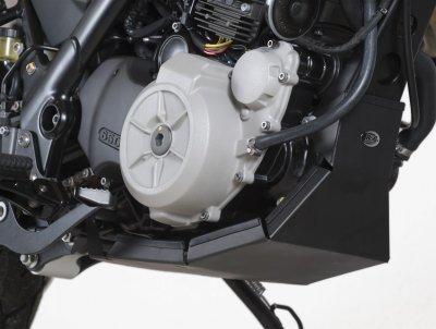 R & G RACING Bash piano cottura protezione sotto cover di protezione per Husqvarna tr650strada–bp0005bk