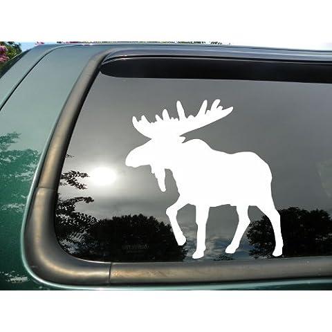 Die Cut Moose-in vinile/decalcomania/adesivo per auto o furgone 10,16 cm x (3 (4 7,62 cm