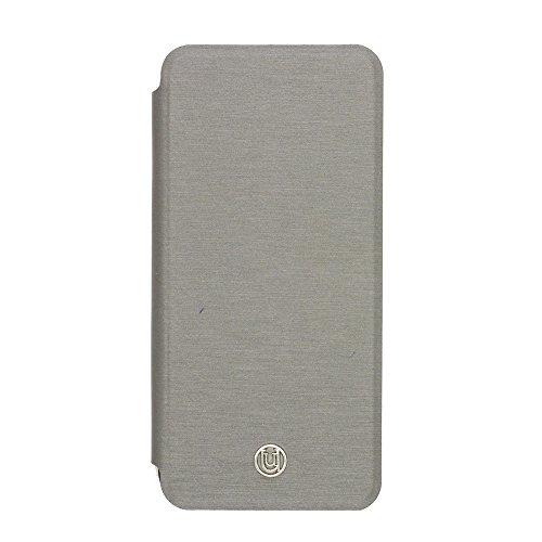 Uunique magnetisch 2-in-1-British Campers Folio Hard Shell Case für iPhone 6/6S-Anthrazit -