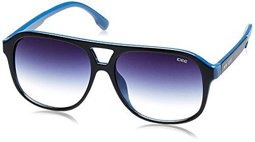 IDEE Gradient Square Men's Sunglasses - (IDS2078C3SG|56|(Blue Gradient lens) image