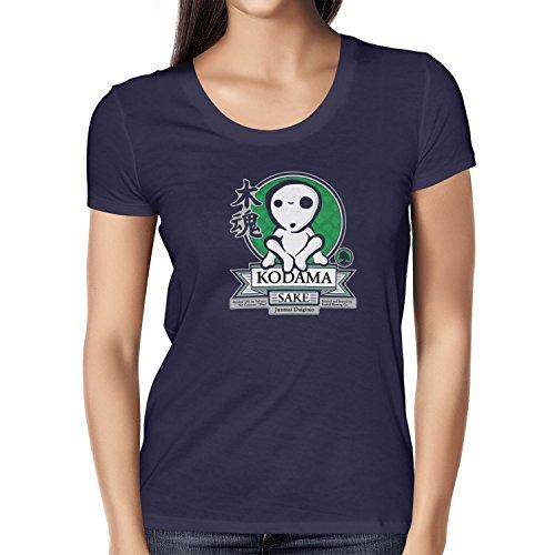TEXLAB - Kodama Sake - Damen T-Shirt, Größe M, (Kostüm Mononoke Prinzessin Wolf)