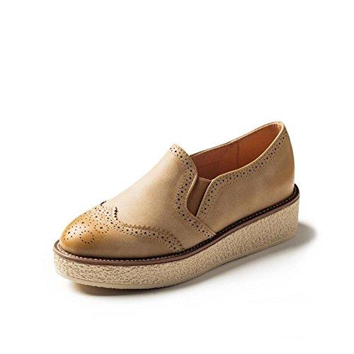 Ladies Shoes/ tête ronde British shoe/Chaussures sport mode B