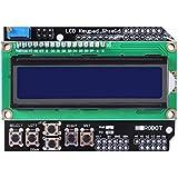 HiLetgo - Keypad Shield LCD, scheda di espansione input / output, 1602 caratteri